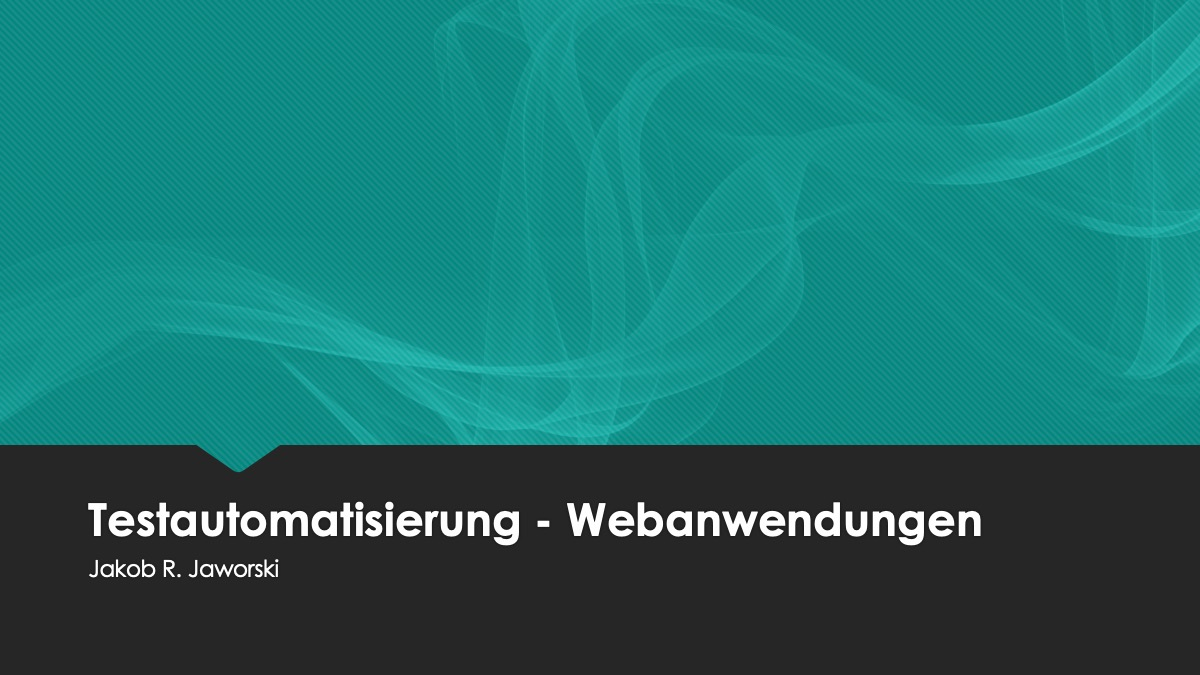 testautomatisierung-tutorial-webanwendungen